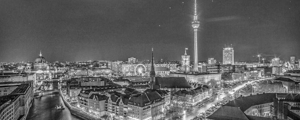 Ansicht der Berliner Skyline